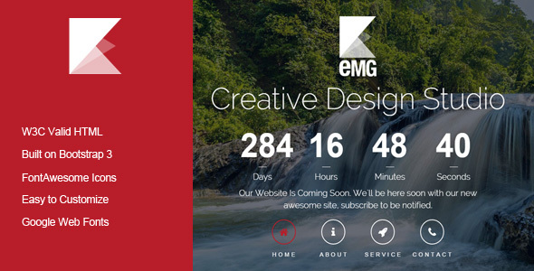 Emg Responsive Coming Soon Template